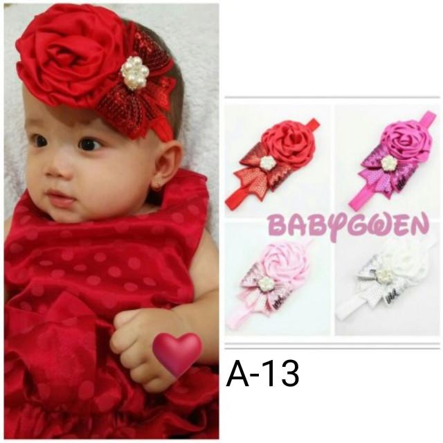 Bando bayi dan anak merah