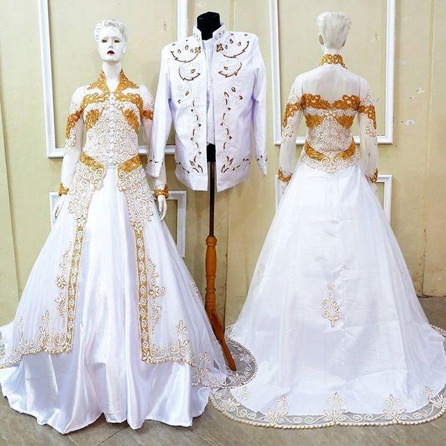 Jual Baju Akad Elegan Model Kebaya Modern Baju Nikah Mewah Kebaya Mura Kota Surakarta Kebaya Modern Murah Tokopedia