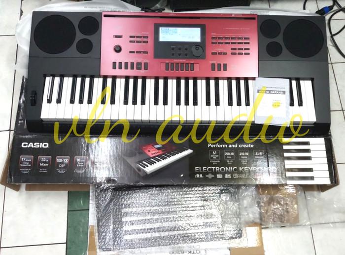 harga Keyboard casio ctk.6250 (original) Tokopedia.com