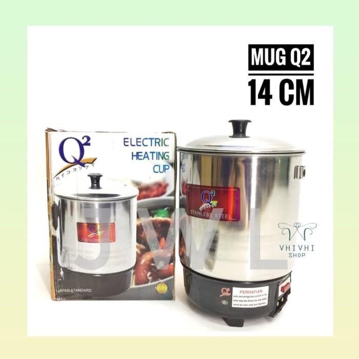 harga Mug/ panci listrik stainless q2 14 cm/ pemanas air Tokopedia.com