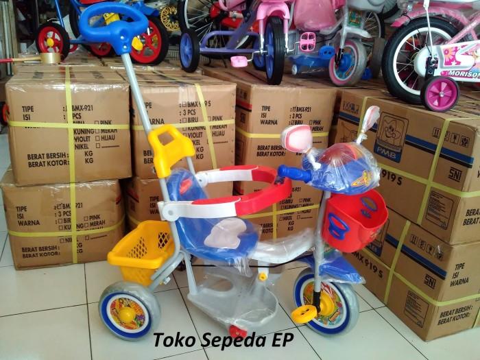 harga Sepeda roda 3 family seri police anak balita Tokopedia.com