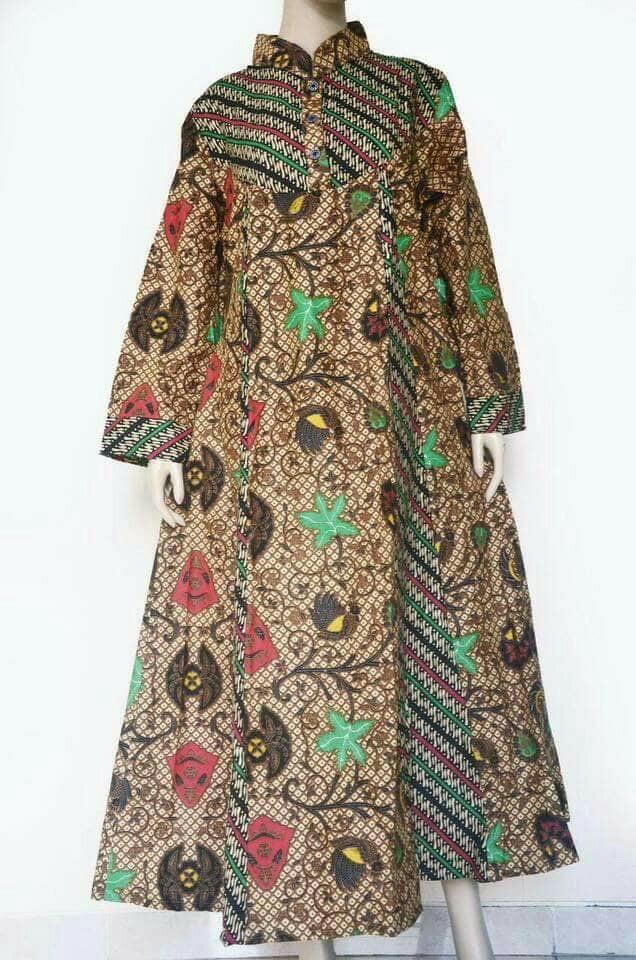 harga Gamis Batik Wtgr / Fashion Muslim Tokopedia.com