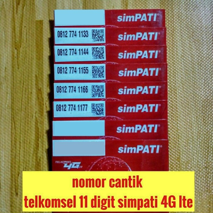 Telkomsel Simpati Nomor Cantik 0812 8888 2270 Daftar Harga Terkini Source kartu perdana .