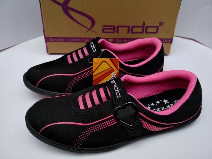 harga Sepatu sekolah original ando sepatu sekolah anak perempuan sd smp sma Tokopedia.com