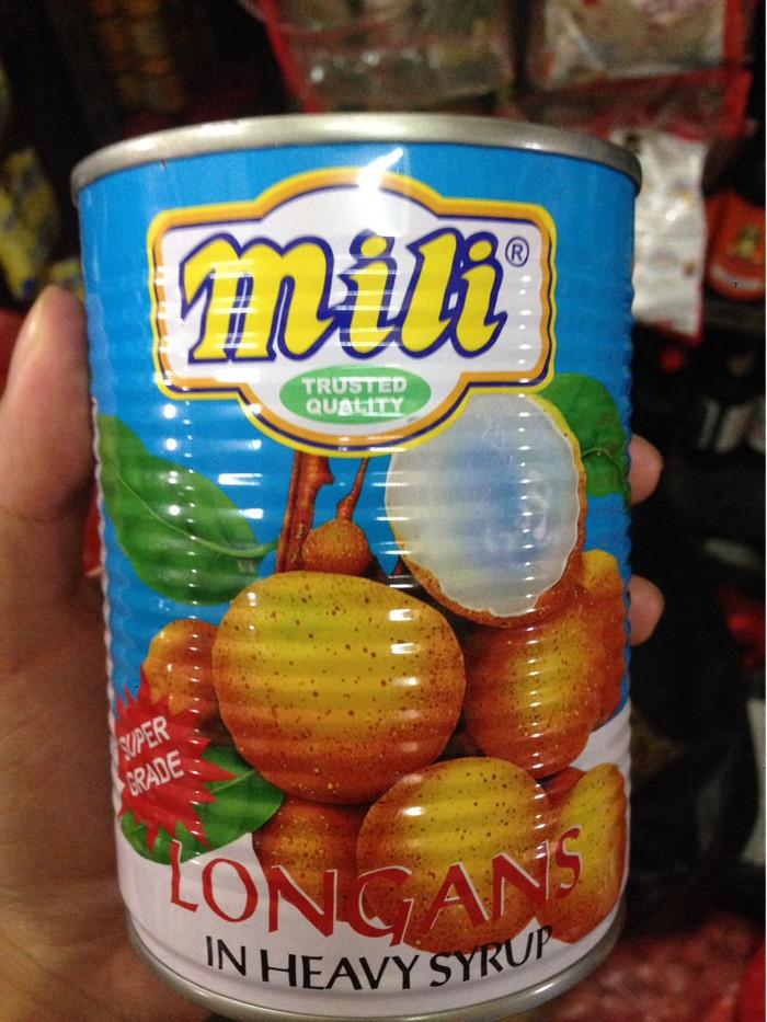 harga Buah kelengkeng kaleng mili longan in heavy syrup 565 gr thailand Tokopedia.com