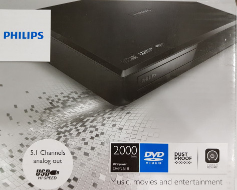 harga Philips dvp 2618 dvd player - 5.1 channels analog out for home theater Tokopedia.com