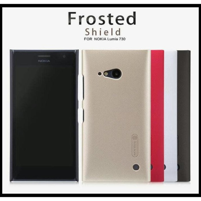 NILLKIN HARD FROSTED SHIELD NOKIA LUMIA 730 CASING HP