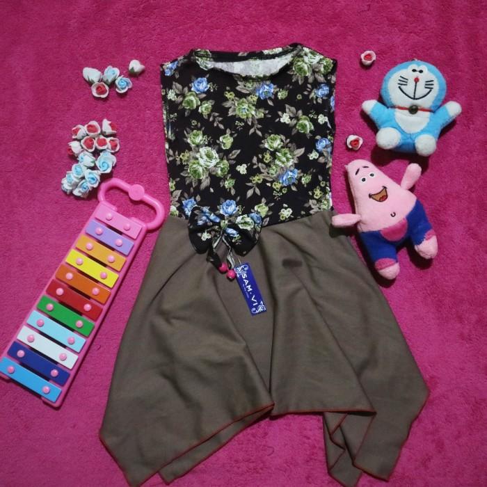 Foto Produk Dress Payung Runcing Anak Size M dari babybebs002