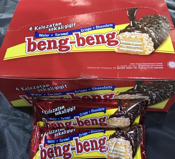 harga Wafer beng-beng coklat 22g Tokopedia.com