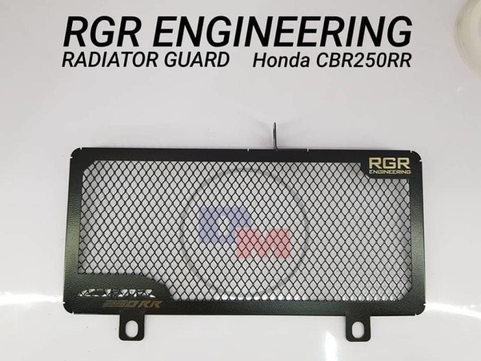Foto Produk RGR ENGINEERING RADIATOR GUARD untuk CBR250RR dari duniamotorcom-DM