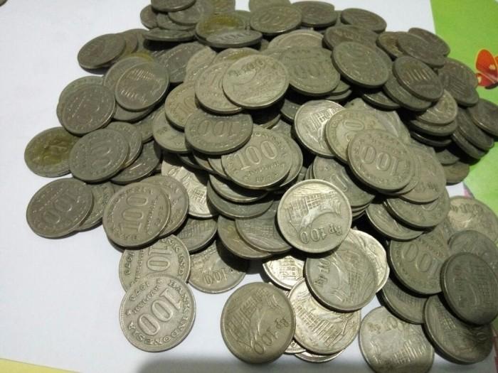 harga Uang koin kuno 100 rupiah rumah gadang tahun 1973 logam tebal  Tokopedia.com