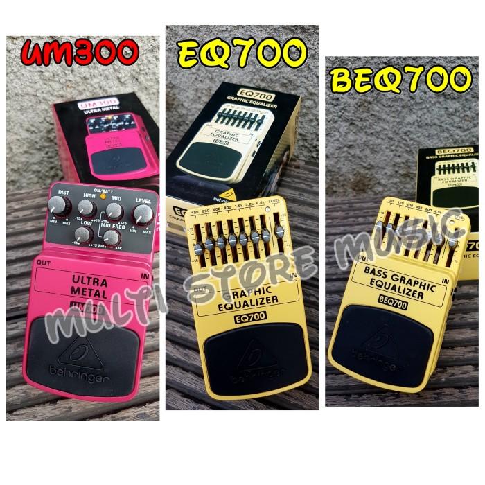 harga Efek gitar/ bass behringer um300 (ultra metal) eq700/ beq700 (equaliser) Tokopedia.com
