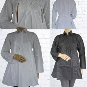 harga Baju kerja ibu hamil putih dan hitam ahs114 Tokopedia.com
