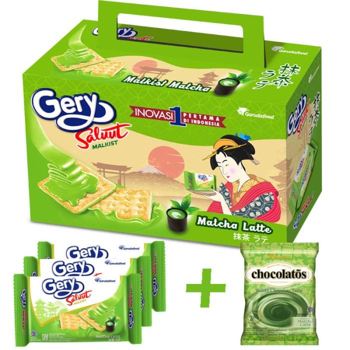 harga Fs -gery saluut malkist (3) dan chocolatos drink(10) matcha latte - p2 Tokopedia.com