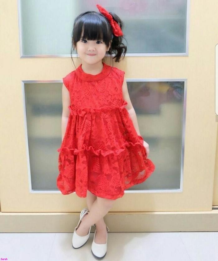 Jual Merlin Kids Model Dress Anak Terbaru Dress Pesta Anak Perempuan