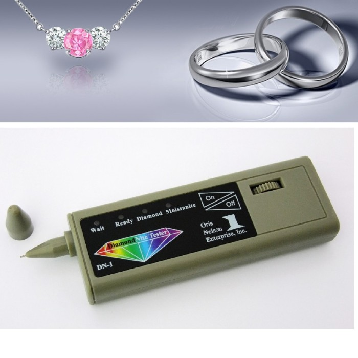 harga Dual tester-new one touch diamond & moissanite tester-jewelry detector Tokopedia.com