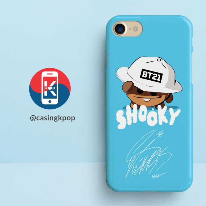 harga Casing handphone kpop bts bt21 suga shooky sign Tokopedia.com