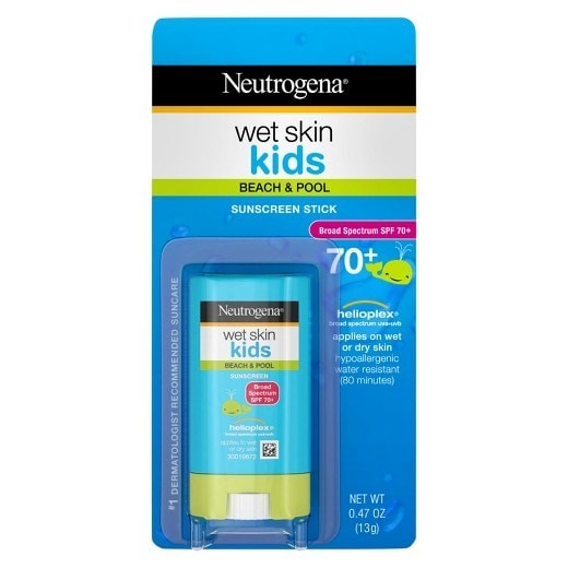 Neutrogena wet skin kids sunscreen stick spf 70 13gr