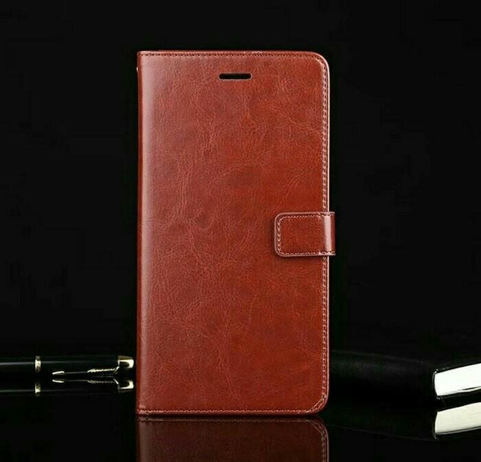 harga Samsung galaxy a7 2018 a750 flip wallet leather case cover kulit Tokopedia.com