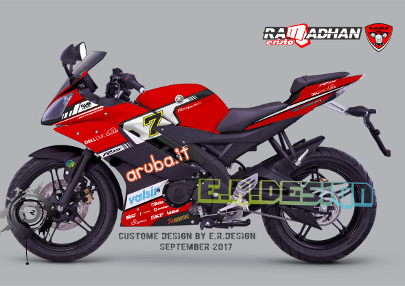 Jual decal sticker Yamaha R15 v2 aruba it fullbody - Kota Malang - E R  Design decal sticker | Tokopedia