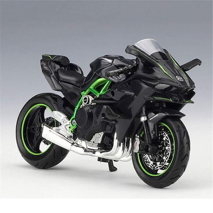 Kawasaki Ninja H2r >> Jual Miniatur Replika Motor Kawasaki Ninja H2r Kota Surabaya Funny Sunday Tokopedia