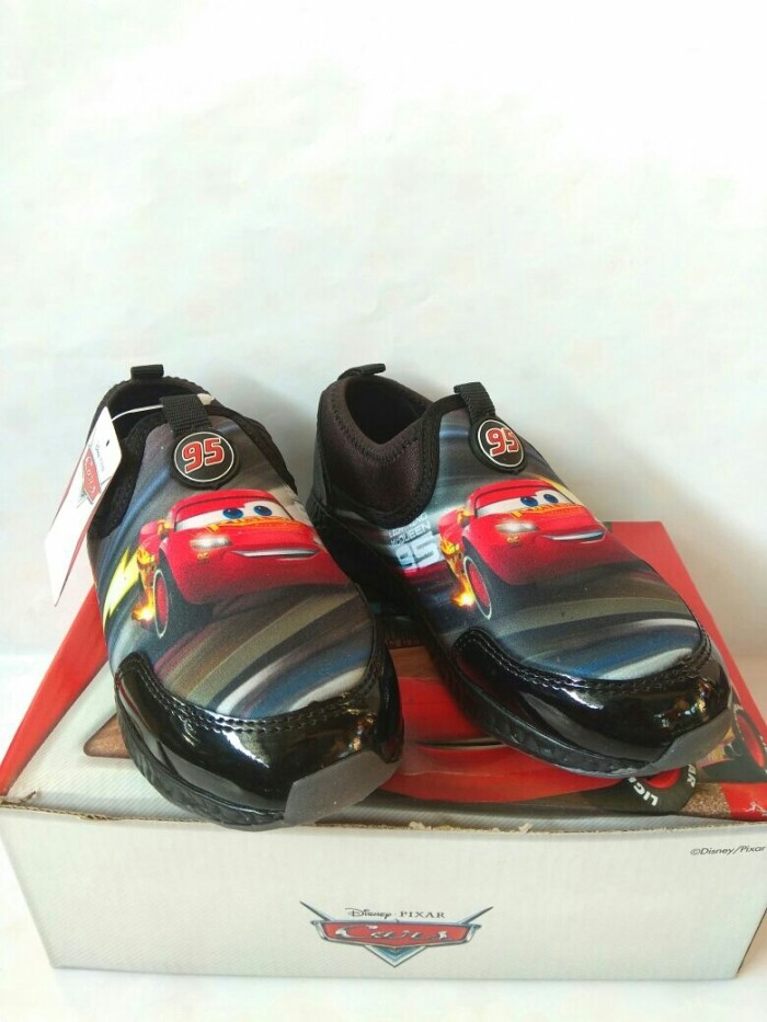 harga Sepatu slip on cars disney / sepatu karakter anak mcqueen pixar cars Tokopedia.com