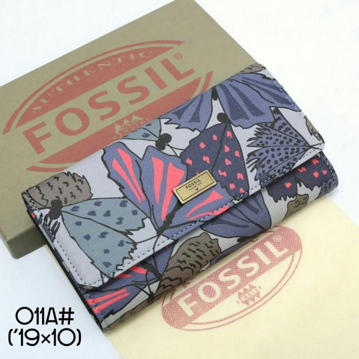 harga Dompet fossil 011a ella triple wallet2 Tokopedia.com