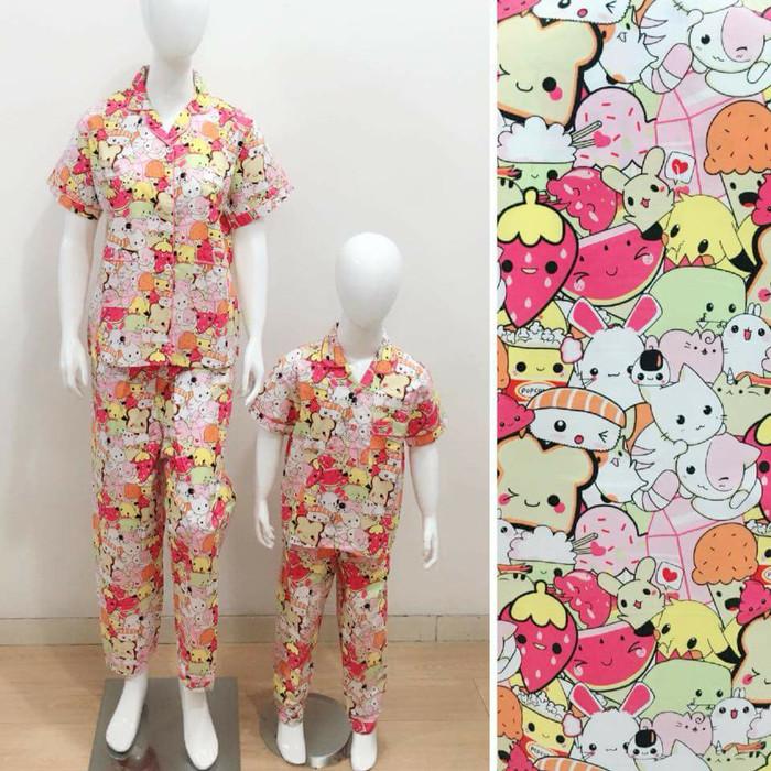 harga Baju tidur piyama couple mom&kids motif pokemon Tokopedia.com