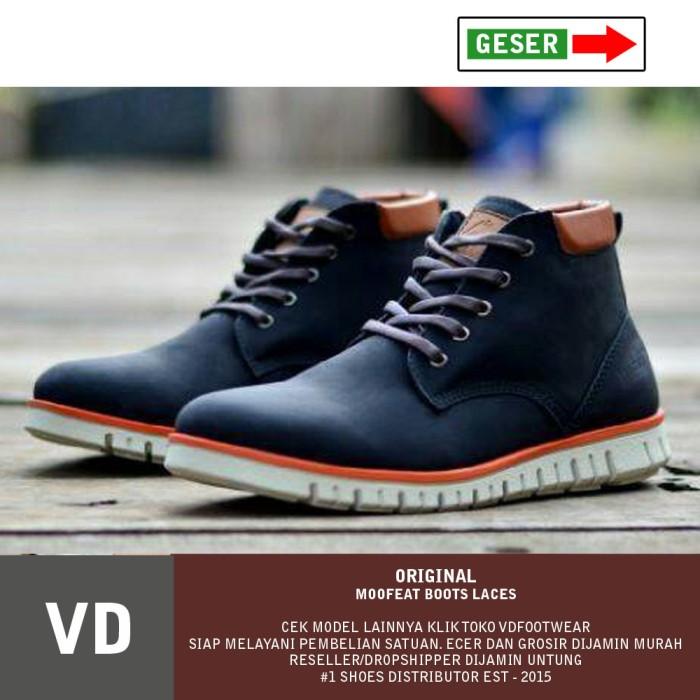 ... harga Sepatu boot pria moofeat original boots sr  black nike adidas converse Tokopedia f682e86ef3
