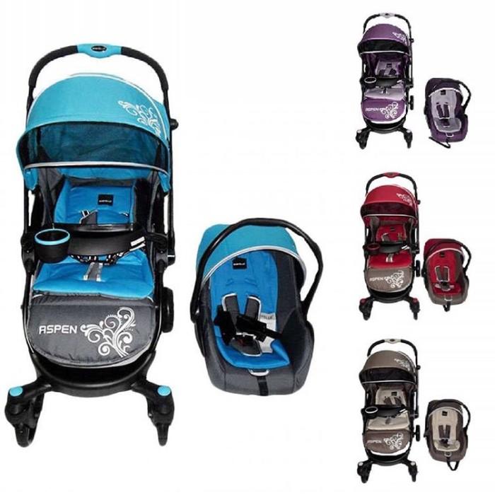 harga Stroller Baby Elle Aspen Ts + Car Seat Tokopedia.com