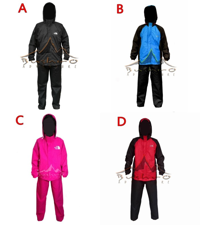 harga Raincoat The North Face, Jas Hujan Jaket Celana Tokopedia.com