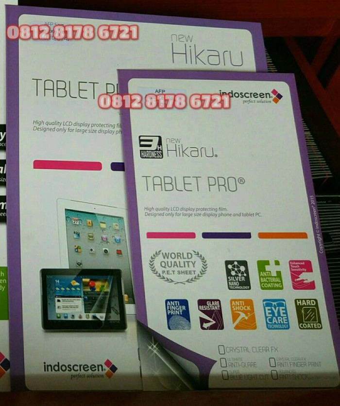 harga Anti gores asus padfone s tablet clear or glare indoscreen Tokopedia.com