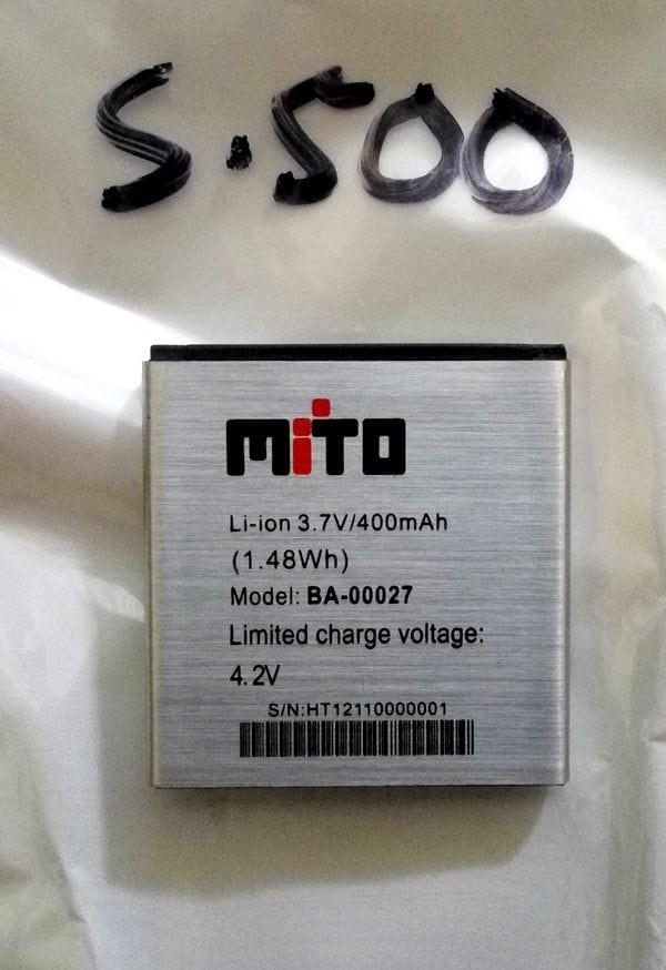 harga Baterai batre battery mito jam tangan s500 / ba-00027 Tokopedia.com