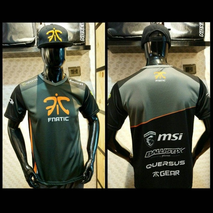 harga Jersey fnatic 2017 new || baju kaos official jaket navi secret dota Tokopedia.com
