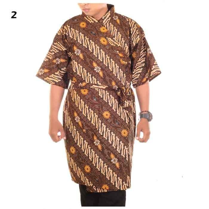 Kimono Batik Pria | Piyama | Baju Tidur | Baju Spa - Gunawan…