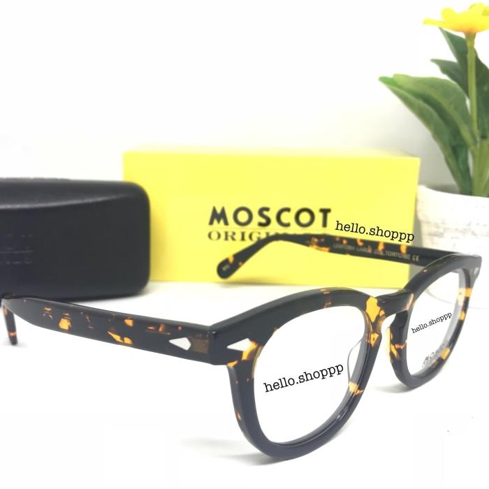Jual Kacamata Moscot Lemtosh Tortoise Glossy Large   frame kacamata ... cfaf3ac474