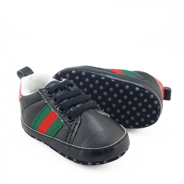... harga Sepatu prewalker pw anak bayi laki cowok sneaker tali gucci hitam  Tokopedia.com 8b74b387c2