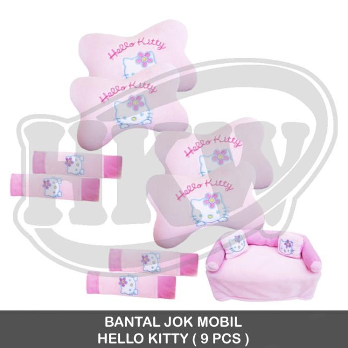 Bantal 9 pcs hello kitty mobil march