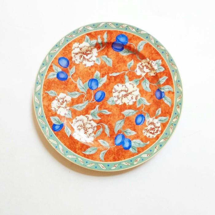 harga Piring makan keramik sango motif gress veritable Tokopedia.com