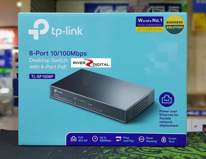 Tp-link tl-sf1008p 8-port 10/100mbps desktop switch with 4-port poe