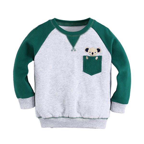 harga Sweater anak abu hijau mom n bab - koala Tokopedia.com
