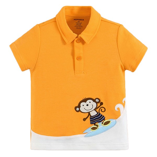 harga Kaos polo anak orange mom n bab - monyet Tokopedia.com