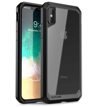 harga Supcase iphone x unicorn beetle clear bumper case - black Tokopedia.com