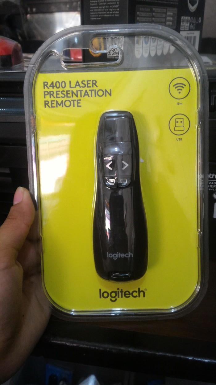33fb7d609ad Jual LOGITECH R400 - Logitech Presenter , Wireless Presenter, Laser ...
