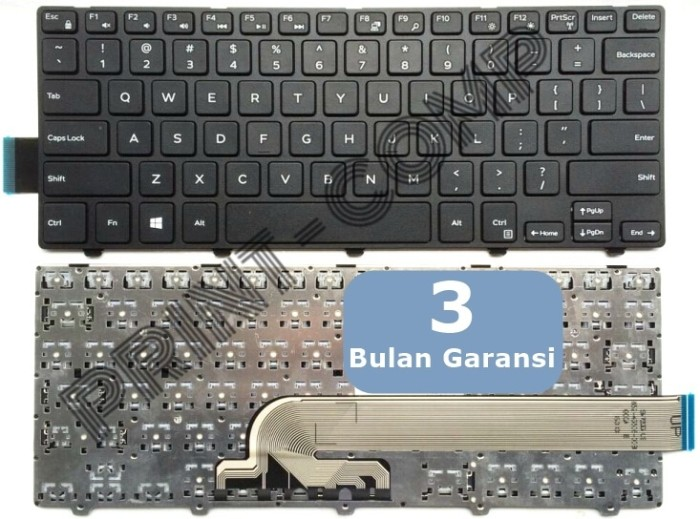 harga Keyboard original dell inspiron 14-3000 14-3441 14-3442 14-5442 Tokopedia.com