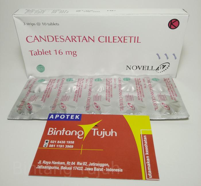 harga Candesartan 16mg ogb novell Tokopedia.com