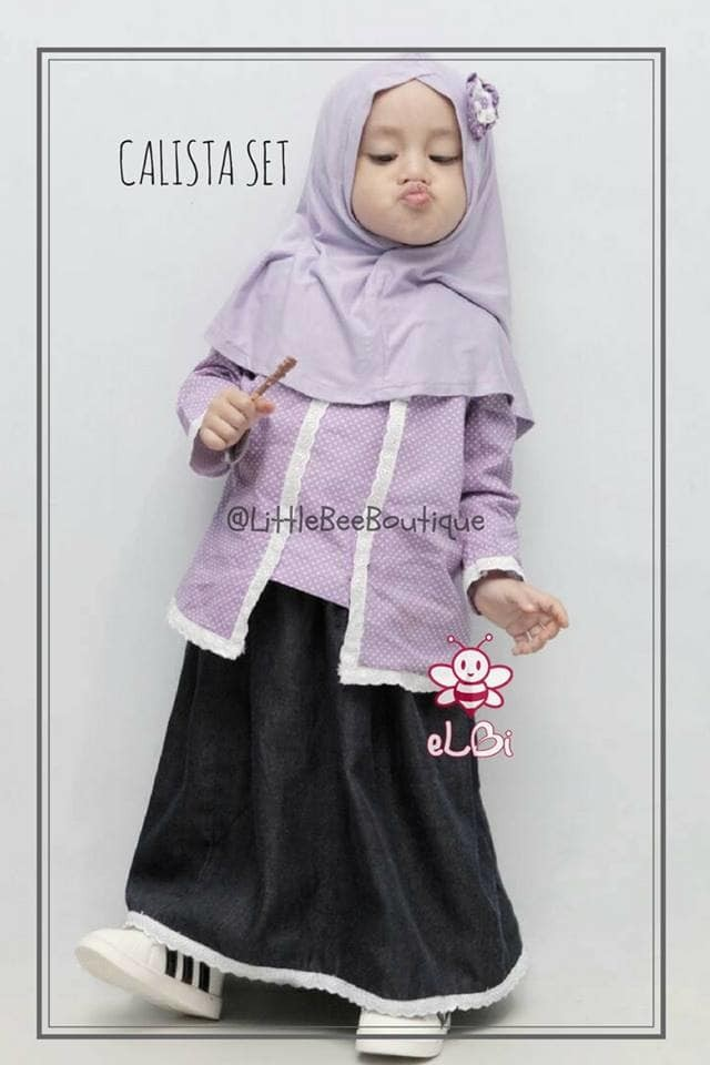 Jual Kebaya Muslim Bayi I Baju Kebaya Anak Tk Sd I Gamis Bayi I Calista Kota Surabaya Ramti Store Tokopedia