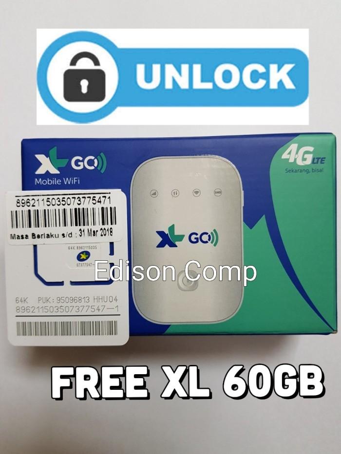 Mifi Modem Wifi 4G XL Go Movimax MV003 Free 60Gb 60Hari BEST SELLER .