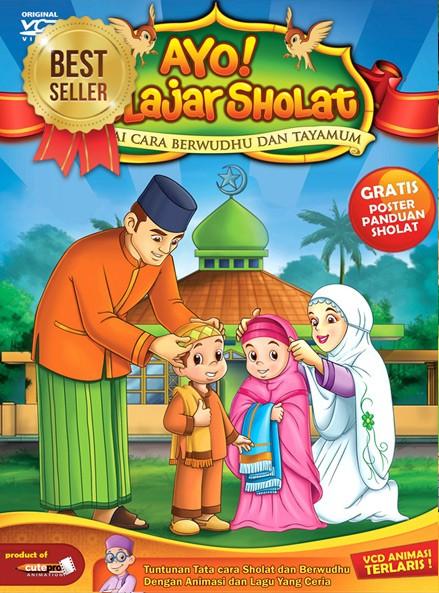 Gambar Animasi Anak Muslim Pergi Sholat 96 Gambar Kartun Sholat Berjamaah Suami Istri Dan Anak Terlengkap Cikimm Com