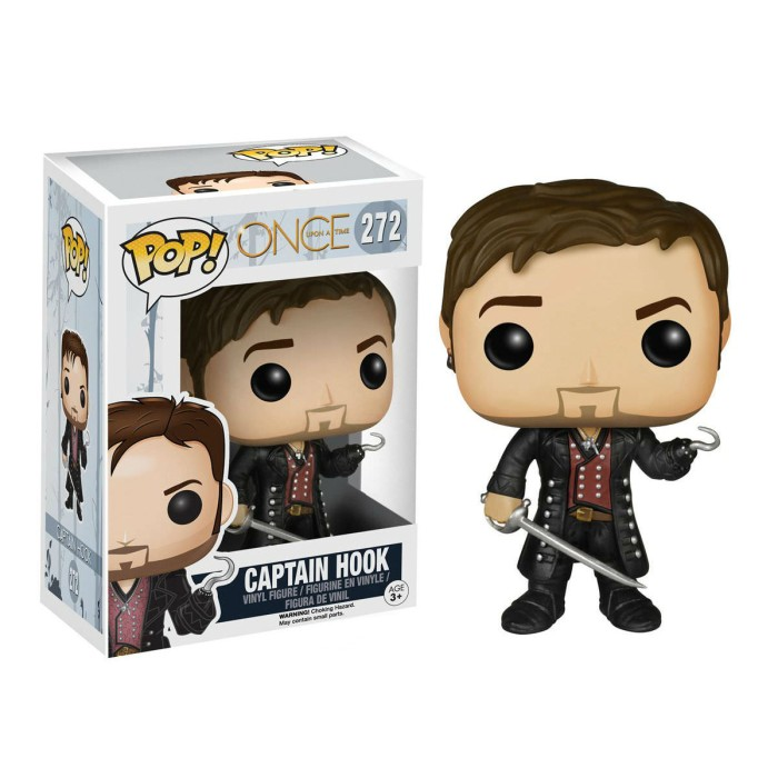 Funko pop! tv once upon a time - captain hook 272